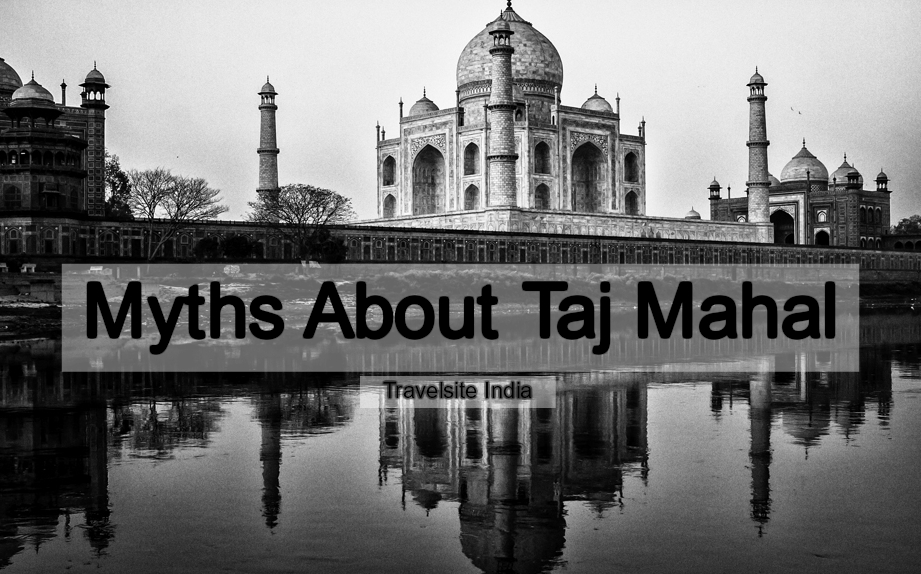 myths about taj mahal