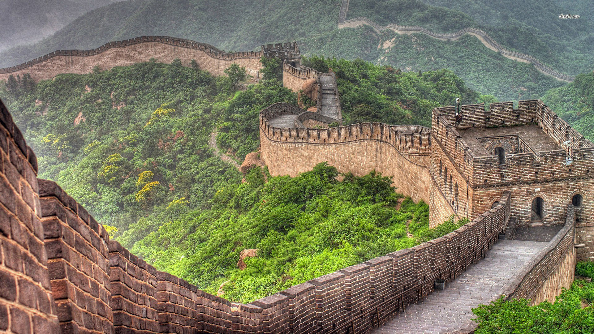 wall of china - seven wonders of the world