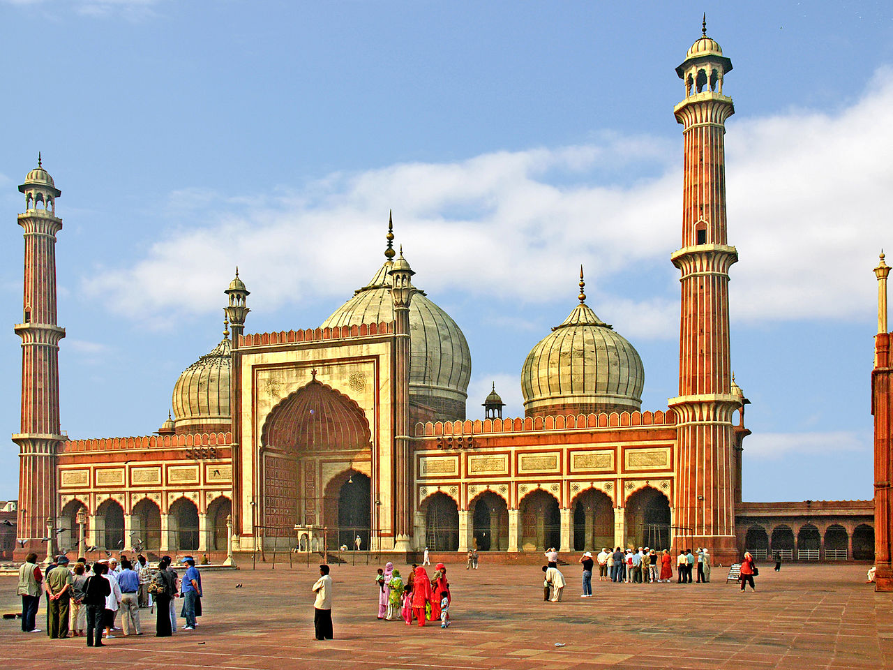 jama masjid delhi, trip to ideal cities of north india
