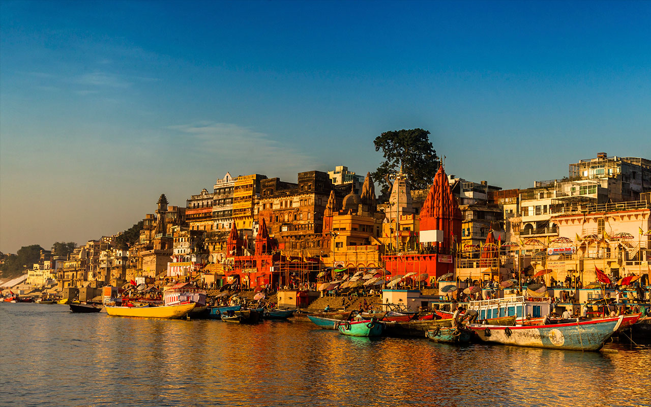 varanasi ghat, trip to ideal cities of noth india