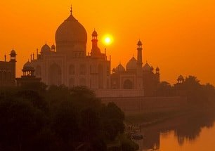 same day agra tour with taj mahal sunset