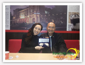 Happy Customer from Taiwan to India Tour