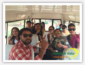 Group Tour from Thailand to India