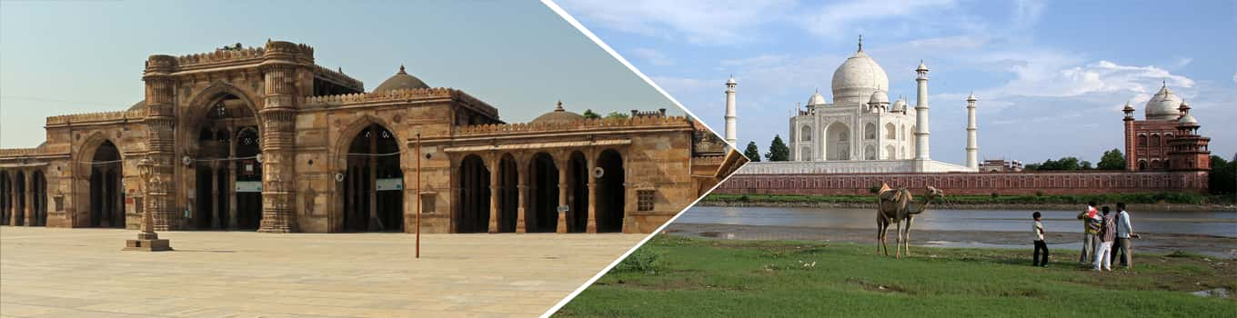 ahmedabad to agra weekend tour
