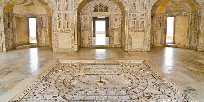 Shah Jahan Prisoned In Agra Fort