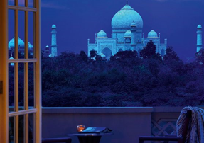Dusk and Dawn View of Taj Mahal Tour